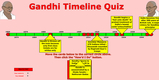 Gandhi's life, Quiz, Questions, Activities