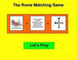 Ancient Rome Matching Game - Interactive